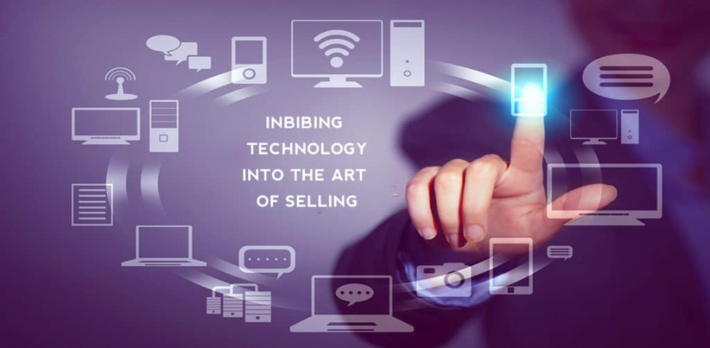 Imbibing Technology into the art of selling