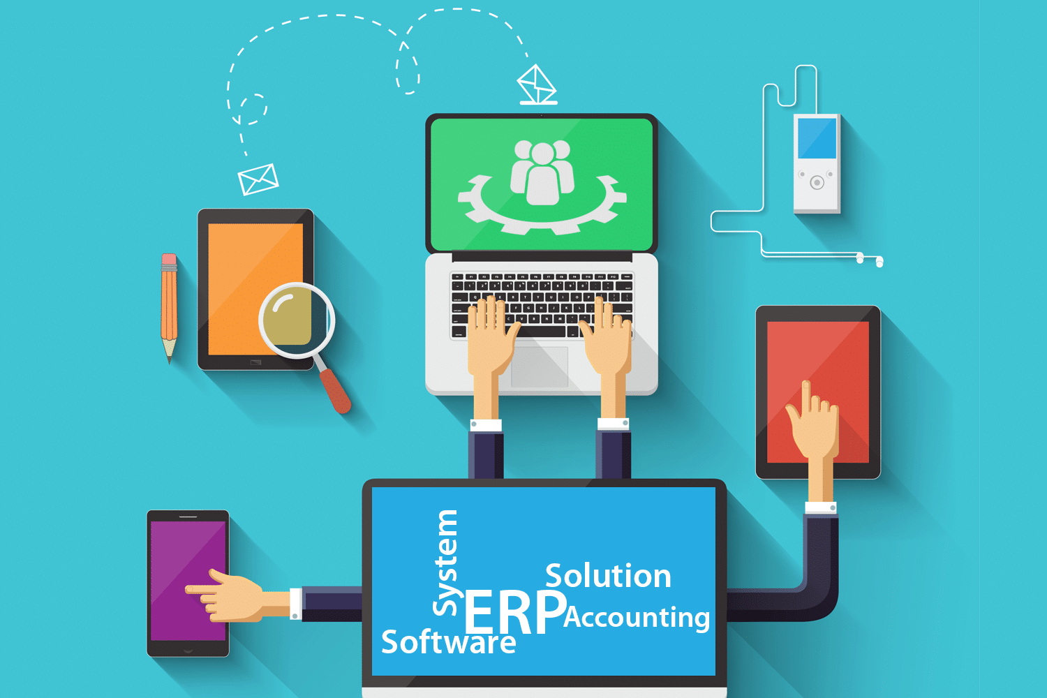 What's the Difference Between ERP Systems and Accounting Softwares