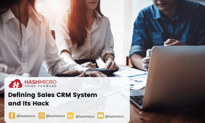 CRM system
