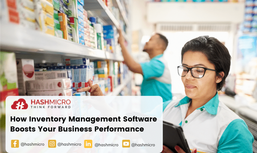 How Inventory Management Software Helps In Boosting Business Performance