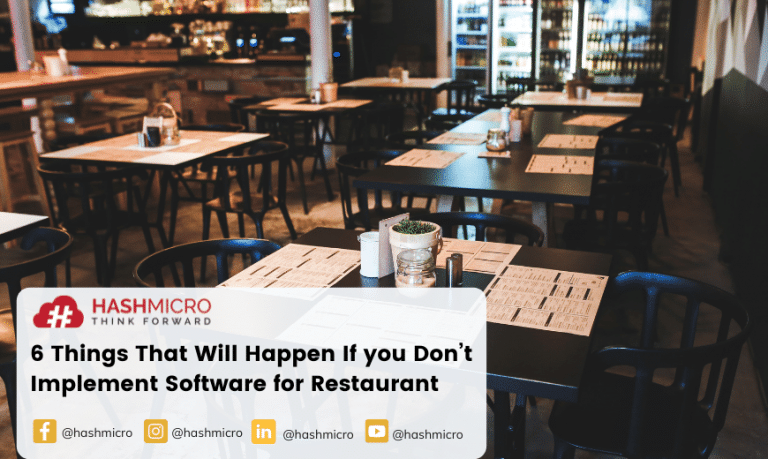 6 Things That Will Happen If you Don't Implement Software for Restaurant