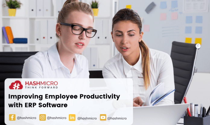Improving Employee Productivity with ERP Software- Best Practices You Must Employ