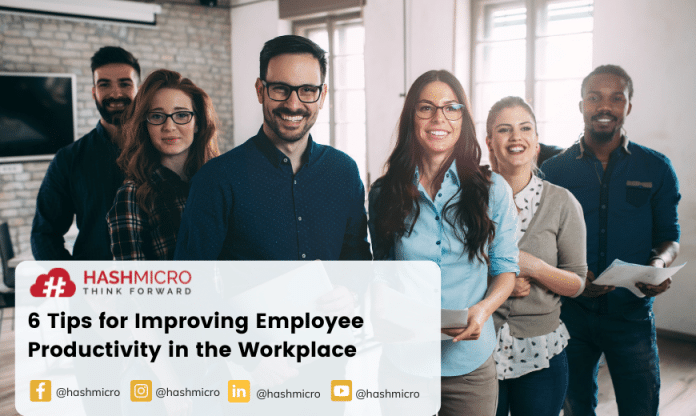 6 Tips for Improving Employee Productivity in the Workplace