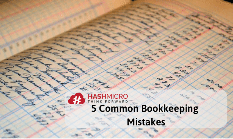 5 Common Bookkeeping Mistakes on Small Businesses
