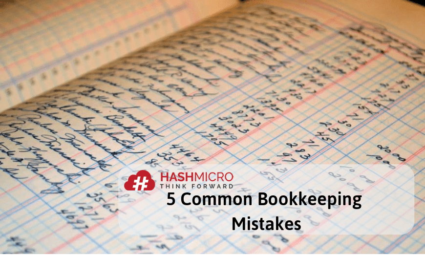 5 Common Bookkeeping Mistakes