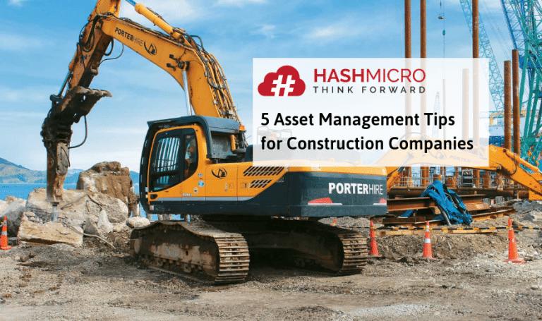 5 Asset Management Strategies for Construction Companies