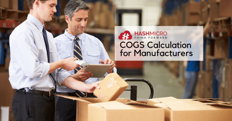 COGS Calculation for Manufacturers