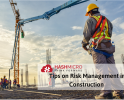 Tips on Risk Management in Construction