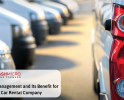 Fleet Management and Its Benefit for Car Rental Company
