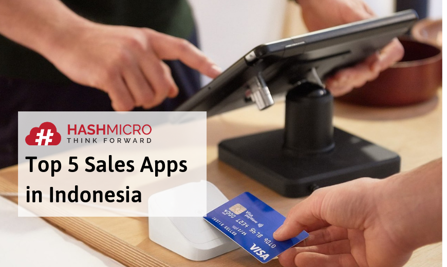 op 5 Sales Apps in Indonesia