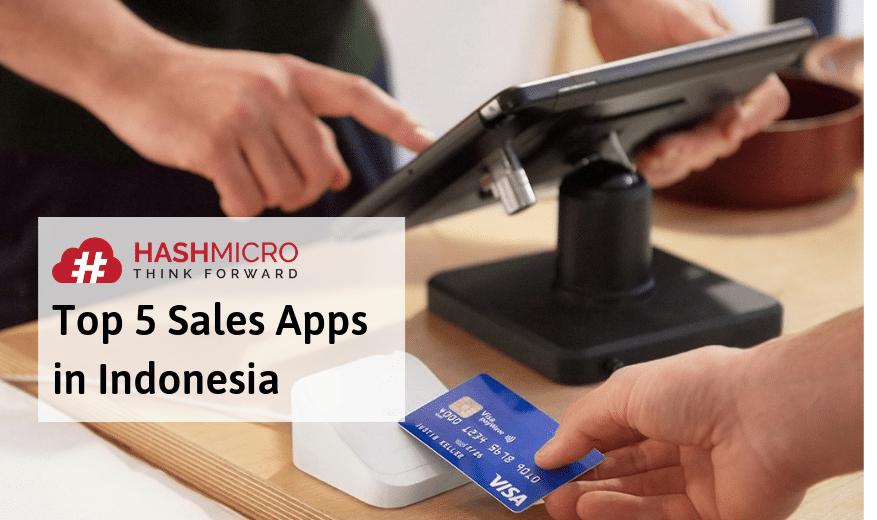 op 5 Sales Apps in Indonesia