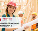 Construction Management Guidelines (Part 2)