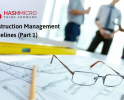 Construction Management Guidelines (Part 1)