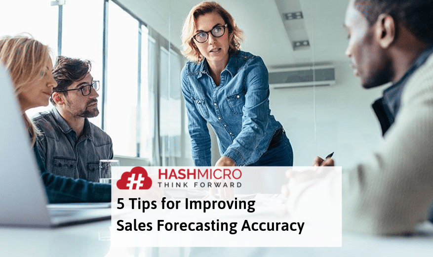 5 Tips for Improving Sales Forecasting Accuracy