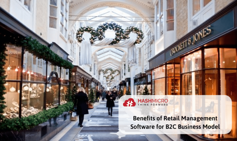 Benefits of Retail Management Software for B2C Business Model