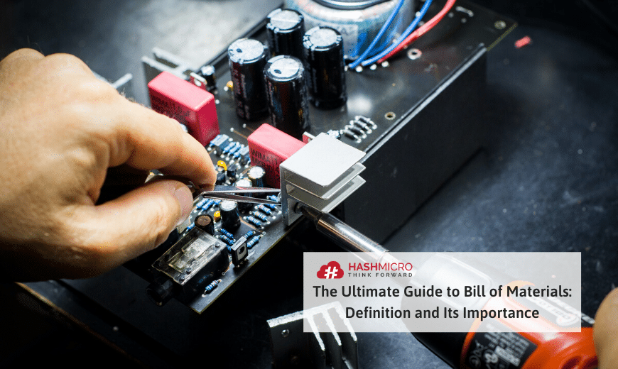 What is a bill of materials (BOM)