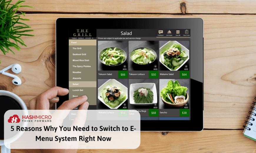 e-menu system