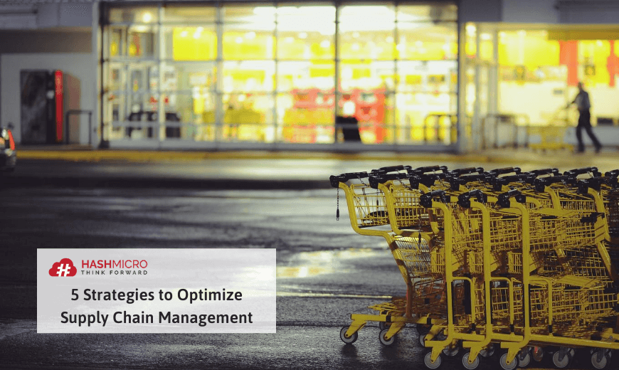 strategies to optimize supply chain