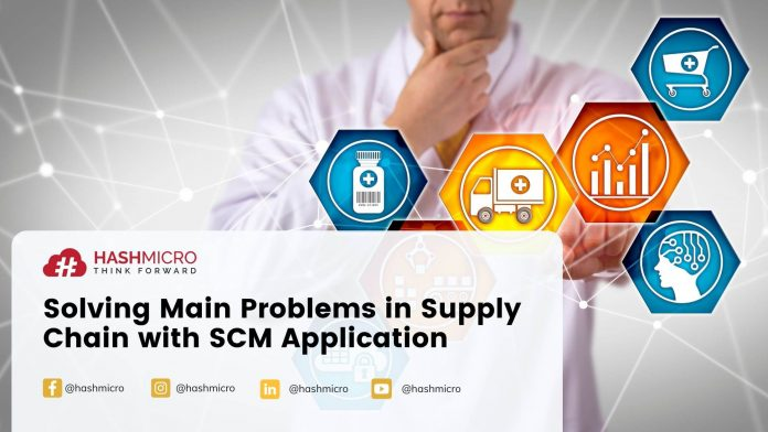Solving Main Problems in Supply Chain with SCM Application