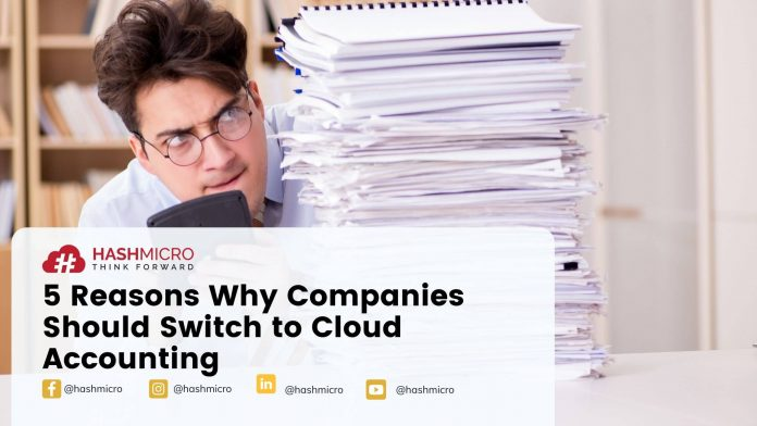5 Reasons Why Companies Should Switch to Cloud Accounting