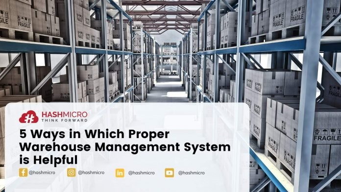 Five ways in which proper warehouse management system is helpful.