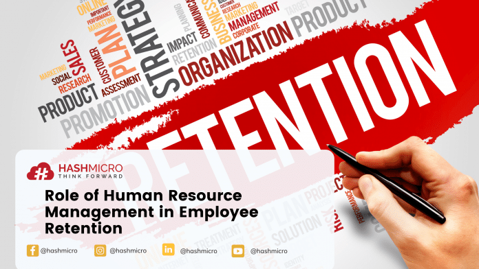Role of Human Resource Management in Employee Retention.