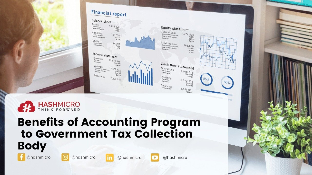 Benefits of accounting program to government tax collection bodies