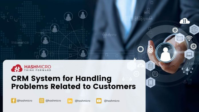 Cloud CRM for Handling Problems Related to Customers