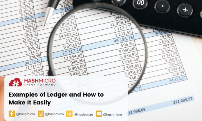 examples of ledger