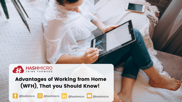 Advantages of Working from Home (WFH), That you Should Know!