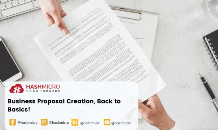 Business Proposal Creation, Back to Basics!