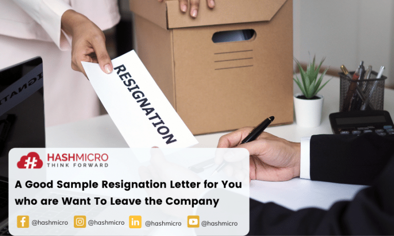 Sample Resignation Letter for Those of You who are Preparing to Leave the Company