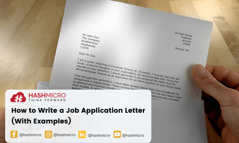 How to Write an Application Letter (With Examples)