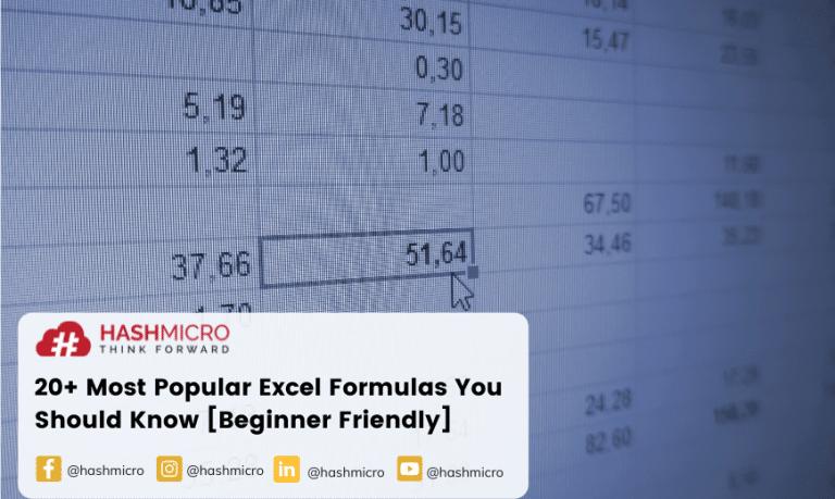 20+ Most Popular Excel Formulas You Should Know [Beginner Friendly]