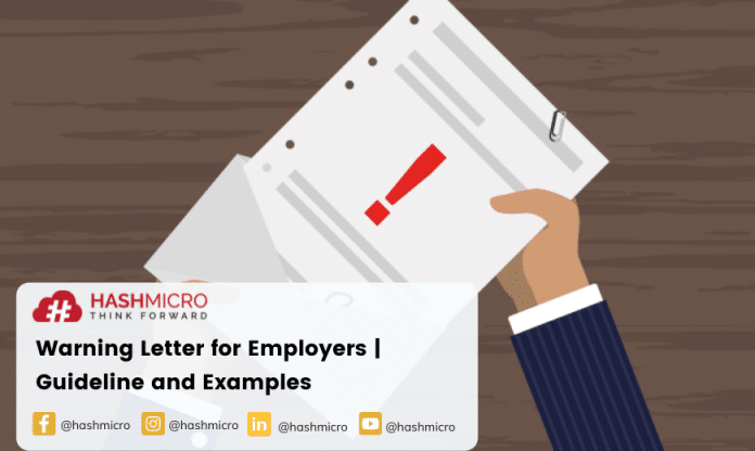 Warning Letter for Employers | Guideline and Examples