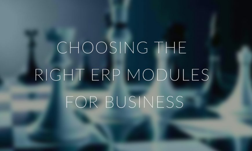 Memilih Modul ERP yang Sesuai untuk Setiap Bisnis