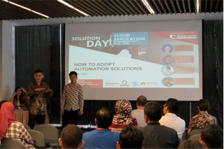Memahami Cloud Computing Melalui Acara Solution Day: Aplikasi Cloud