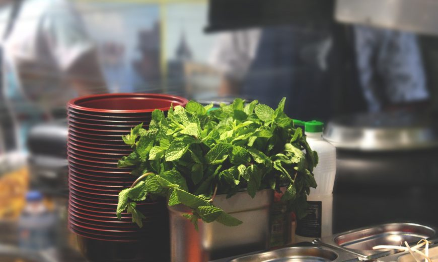 restoran berkonsep Go Green