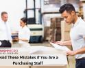 5 Kesalahan yang Harus Dihindari Staf Purchasing