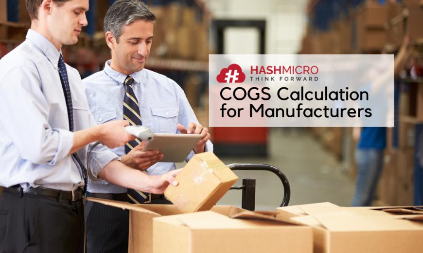 Perhitungan HPP untuk Perusahaan Manufaktur