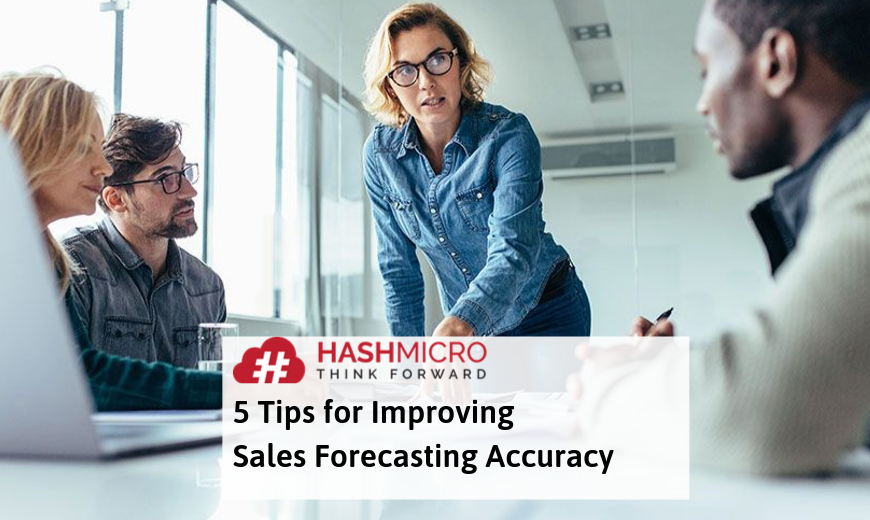 5 Tips Meningkatkan Akurasi Sales Forecasting