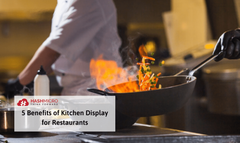 5 Manfaat Menggunakan Kitchen Display untuk Restoran