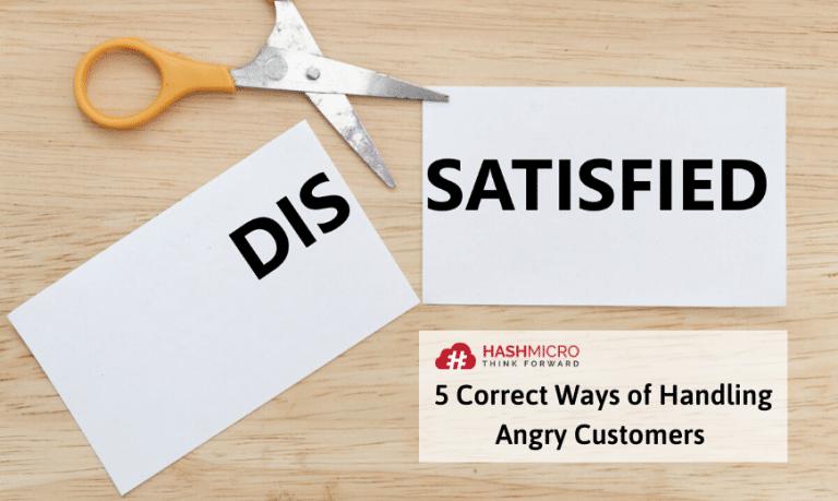 5 Cara Menghadapi Customer yang Marah Secara Tepat