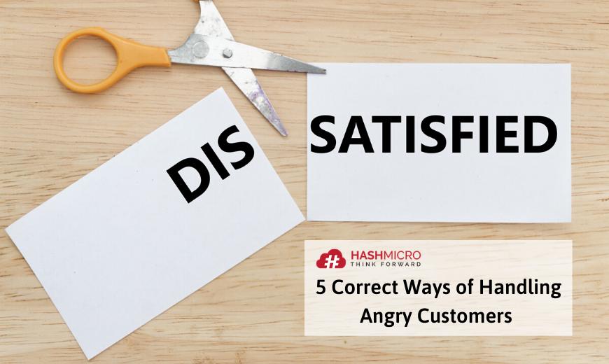 cara menghadapi customer yang marah