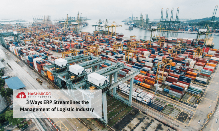 3 Cara ERP Membantu Industri Logistik dan Transportasi
