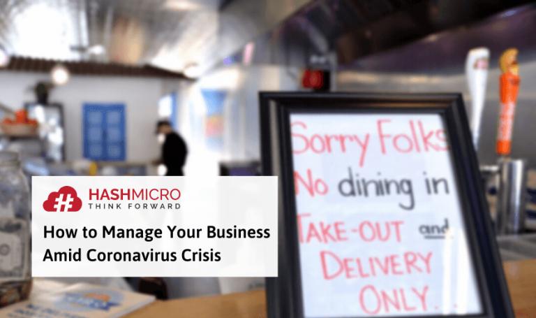 3 Cara Jitu Mengelola Bisnis di Tengah Wabah Virus Corona