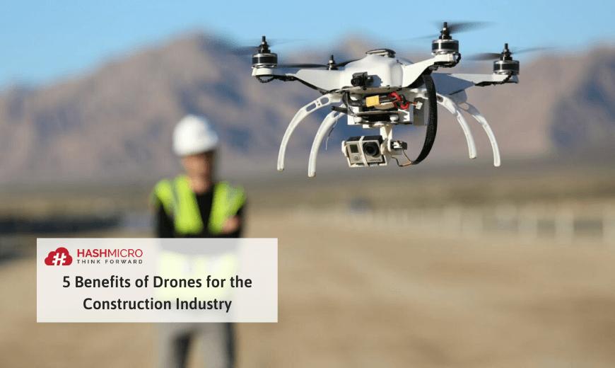 Penggunaan drone untuk konstruksi