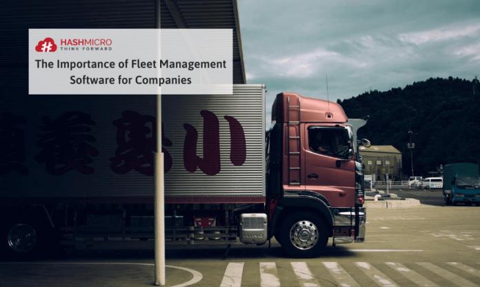 Fleet management system untuk perusahaan