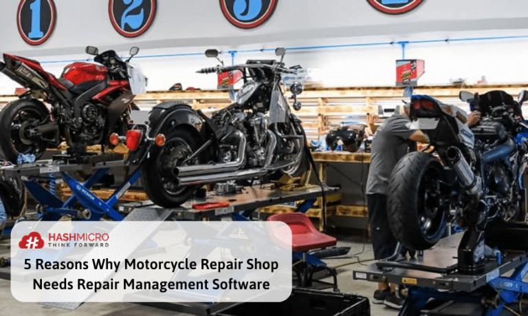 5 Alasan Usaha Bengkel Motor Perlu Software Repair Management