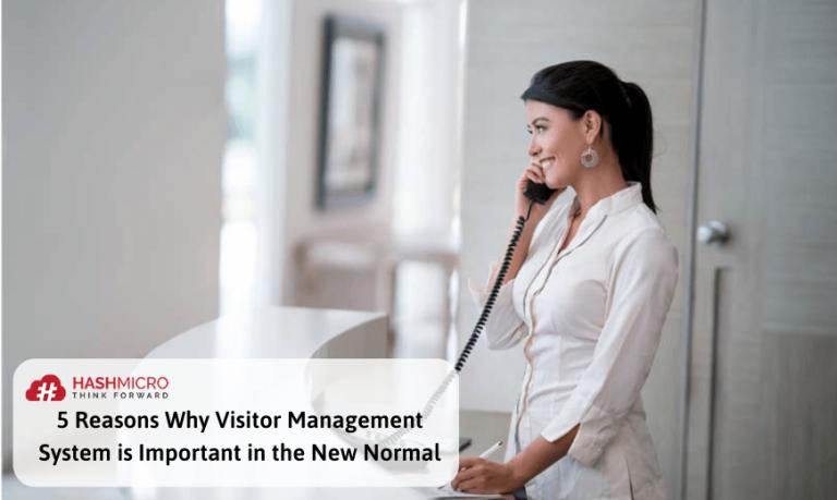 Patuhi Protokol Kesehatan di New Normal dengan Bantuan Visitor Management